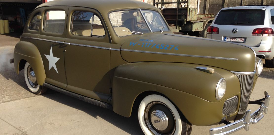 FleetMasters - 1941  Ford Fordor Staff Car