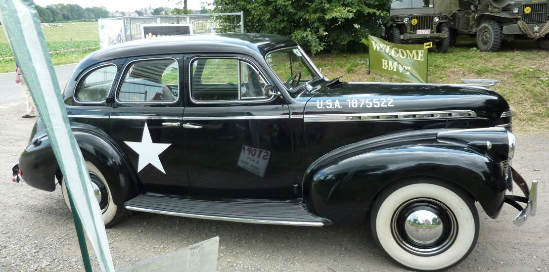 FleetMasters - 1940  Chevrolet Staff Car