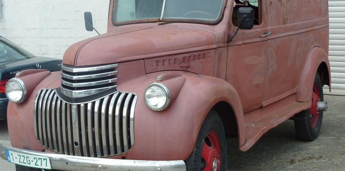 FleetMasters - 1941  Chevrolet Panel Truck