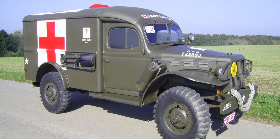 FleetMasters - 1943  Dodge WC-54 Ambulance