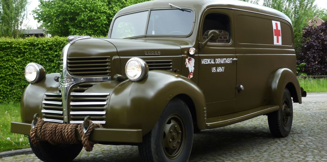 FleetMasters - 1941 Dodge WD-21 Military Ambulance