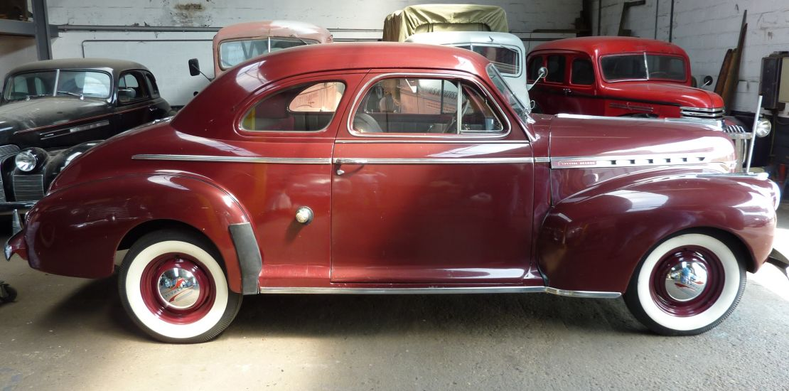 FleetMasters - 1941 Chevrolet Coupé